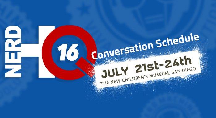 Conversation-Schedule